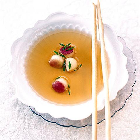 Calvados-Consommé
