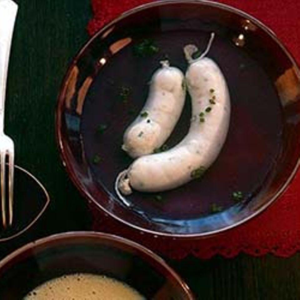 Zander-Weißwurst