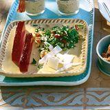 Tabouleh mit Granatapfelgelee