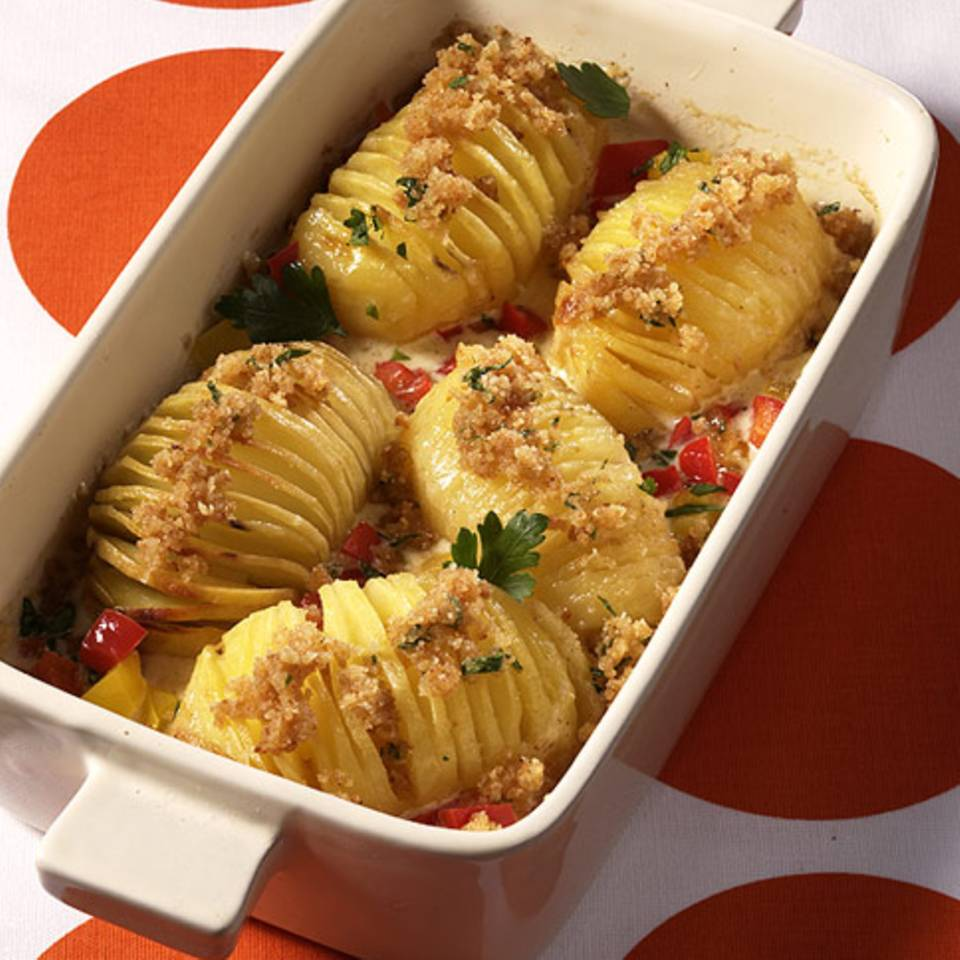 Fächerkartoffel-Gratin Rezept