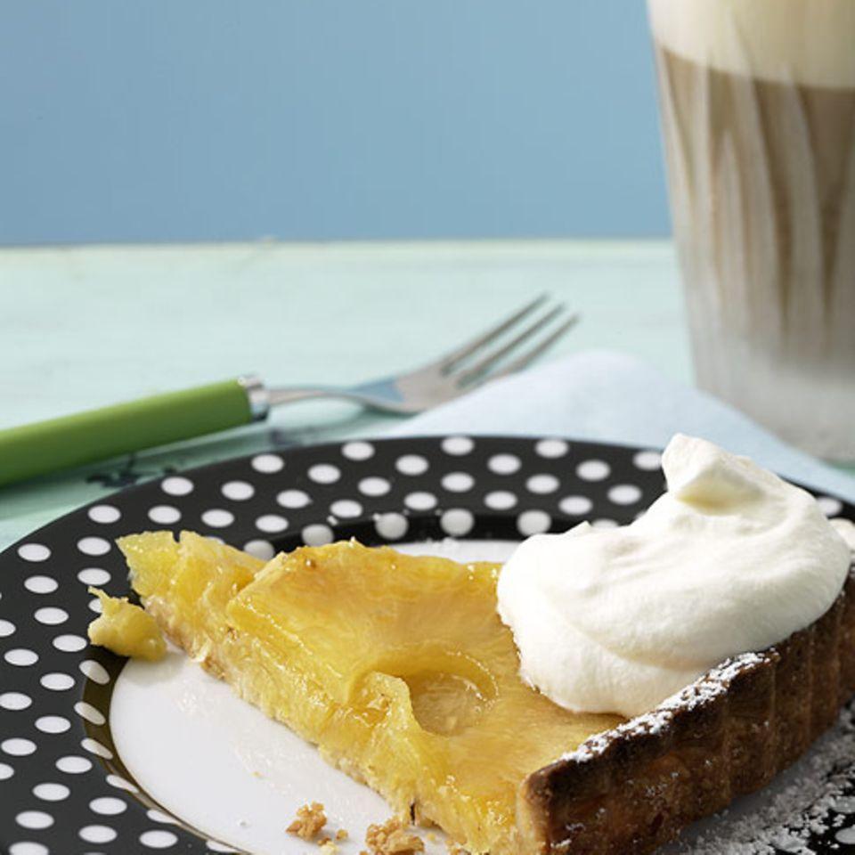 Ananas-Tarte