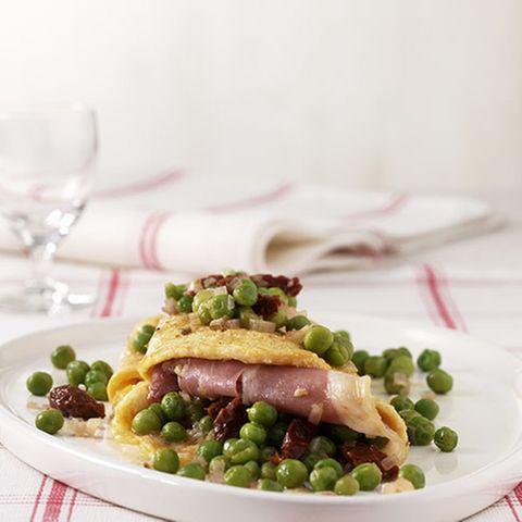 Parma-Omelett