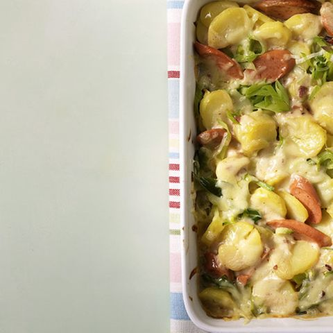 Béchamel-Kartoffelauflauf