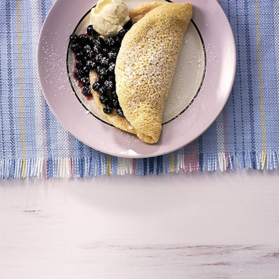 Heidelbeer-Omelett Rezept