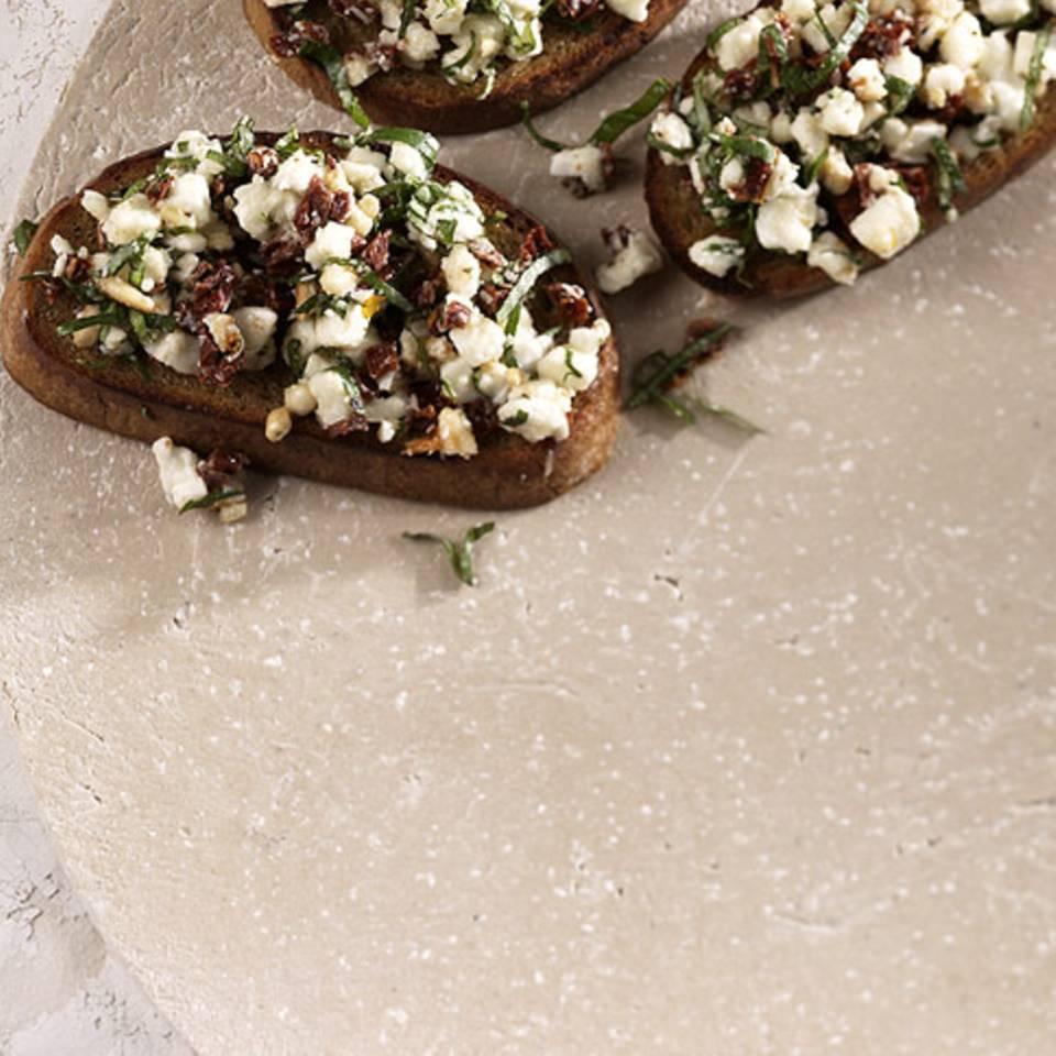 Mozzarella-Bruschetta Rezept