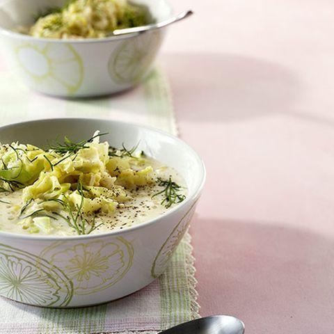 Zitronen-Spitzkohl-Suppe