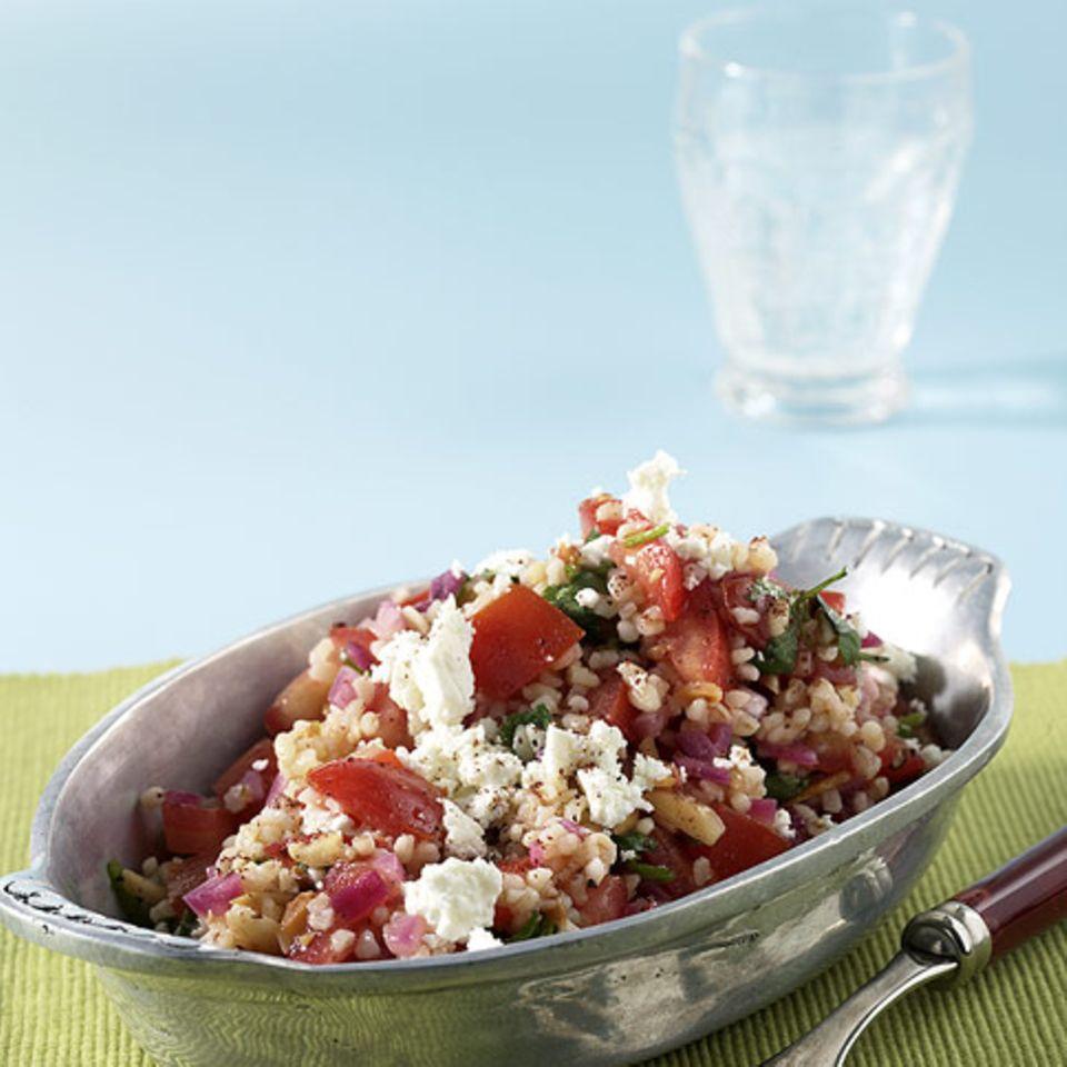 Tomaten-Bulgur-Salat
