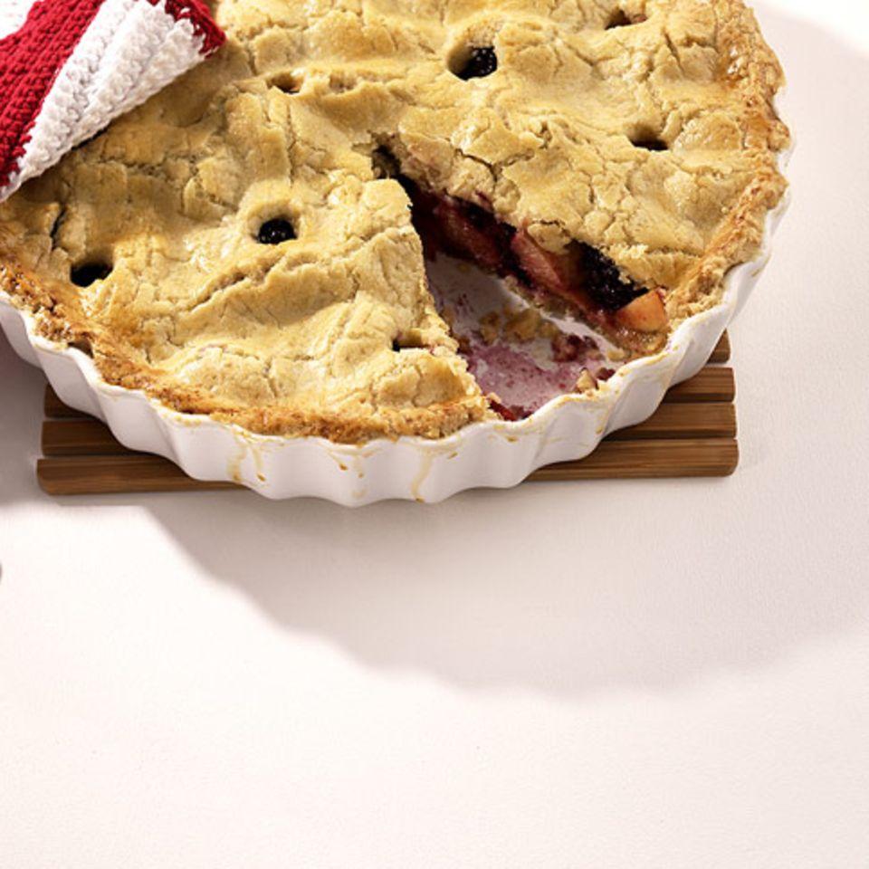 Brombeer-Pfirsich-Pie