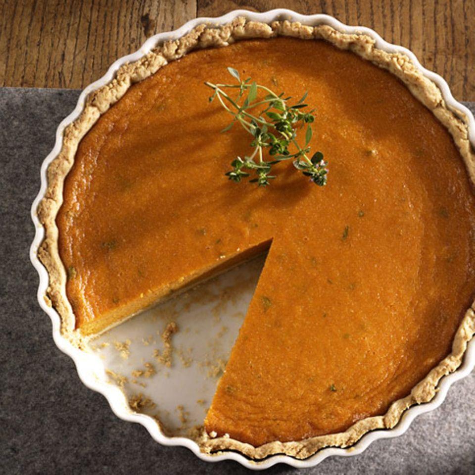 Süßkartoffel-Pie