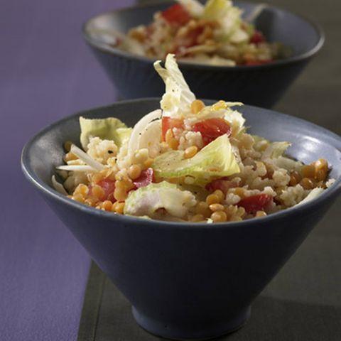 Linsen-Couscous-Salat