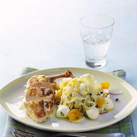 Hähnchen-Frucht-Salat