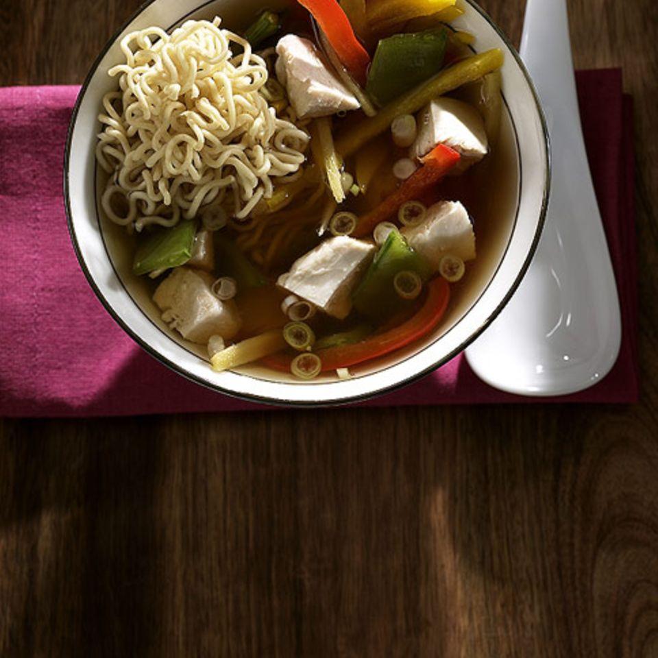 Asia-Suppe für die Großen