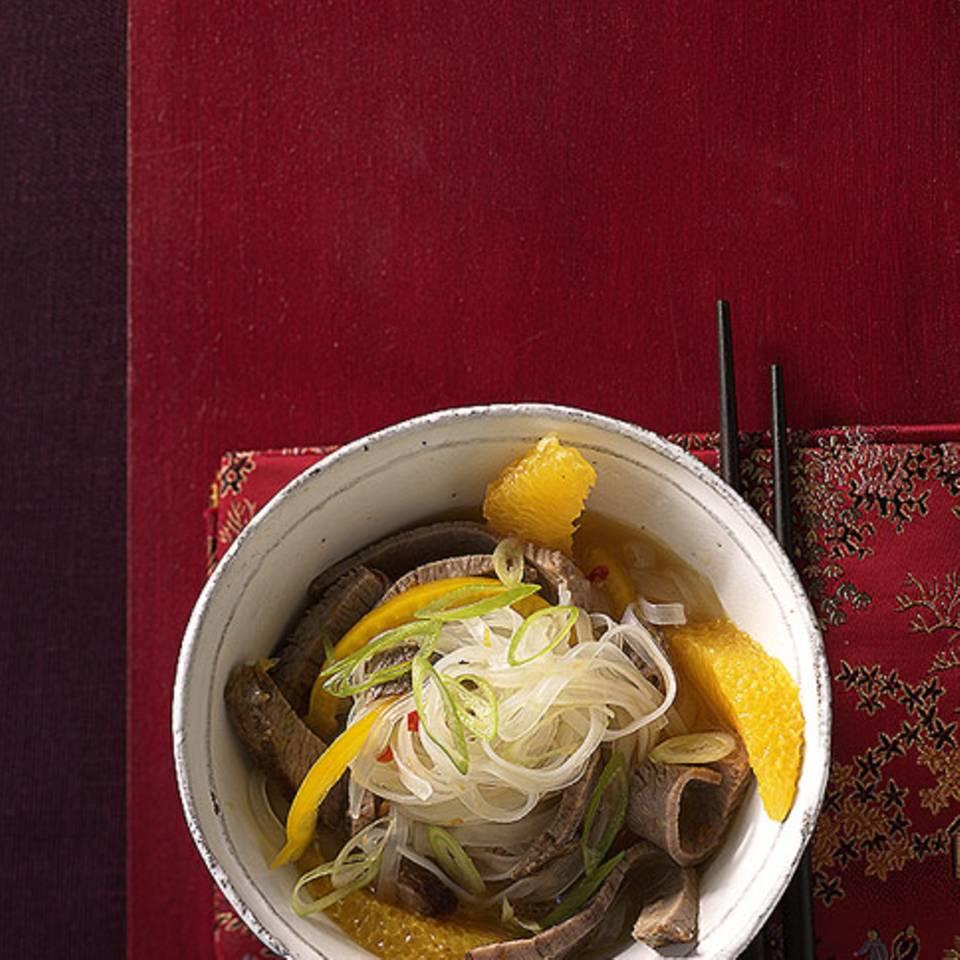 Rindfleischsalat Asia Rezept