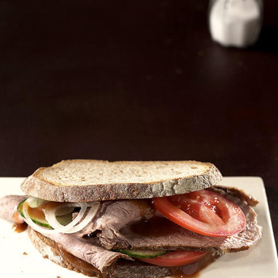 Braten-Sandwich