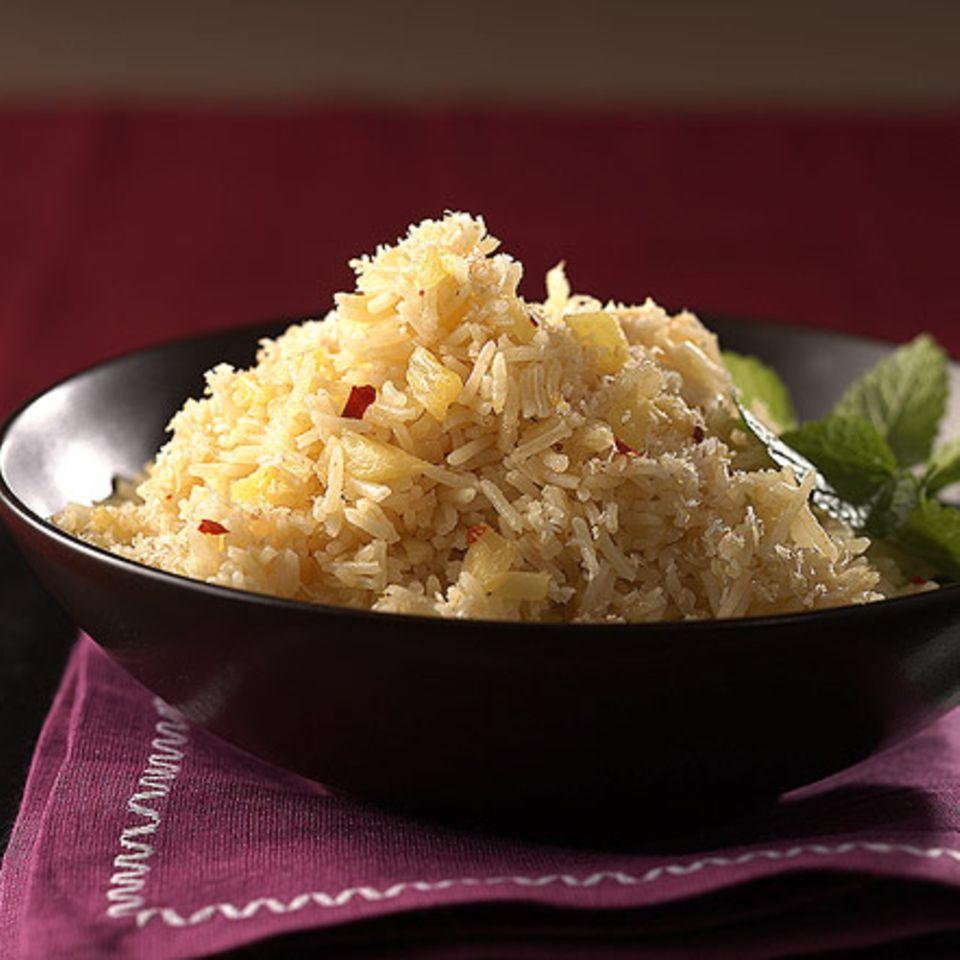 Scharfer Ananas-Reis