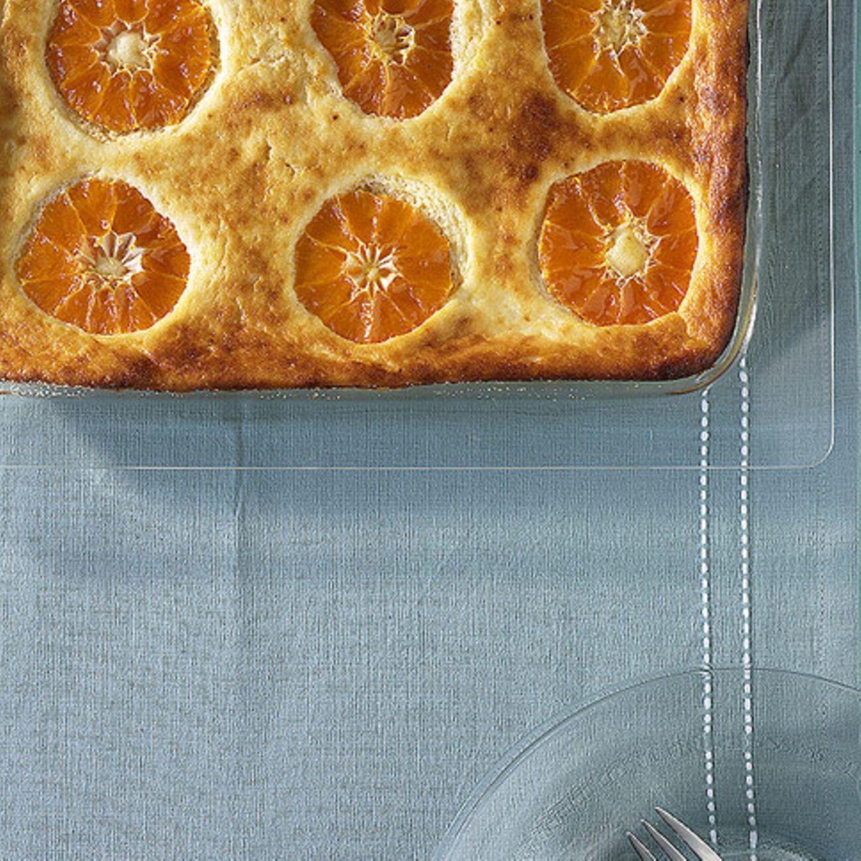 Käsekuchen mit Mandarine