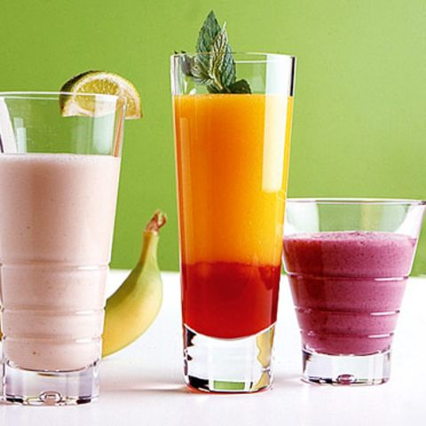 Bananen-Zitrus-Drink