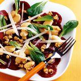 Rote-Bete-Salat mit Walnussvinaigrette