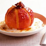 Bratapfel mit Eierlikör