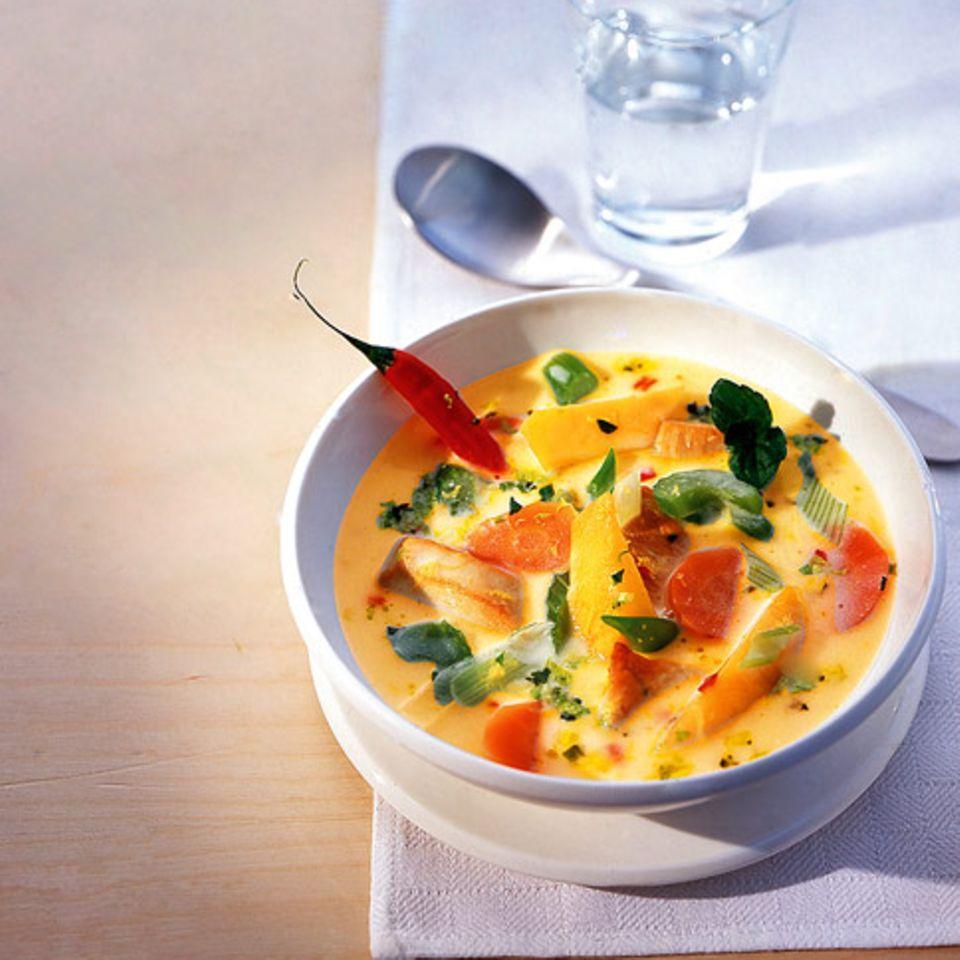 Kokos-Chili-Suppe