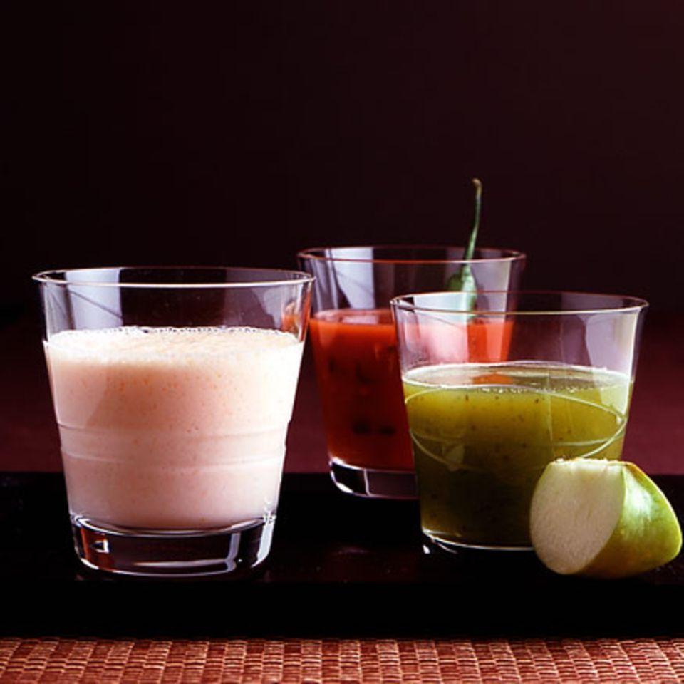 Apfel-Gurken-Shake