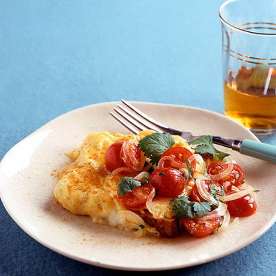 Curry-Rührei Rezept
