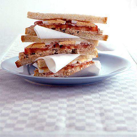 Thunfisch-Sandwiches