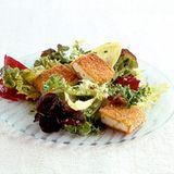 Curry-Tofu mit Wintersalat