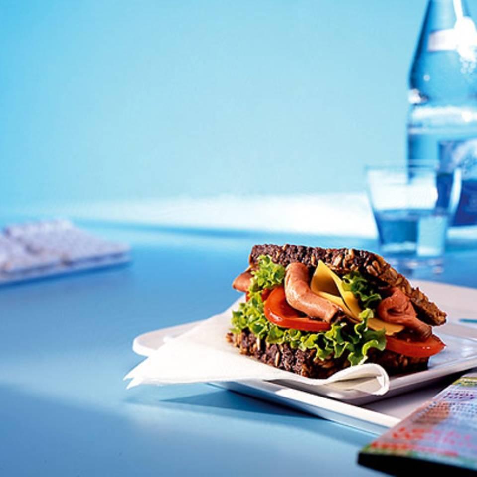 Roastbeef-Sandwich Rezept
