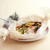 Forellen-Gemüse-Päckchen