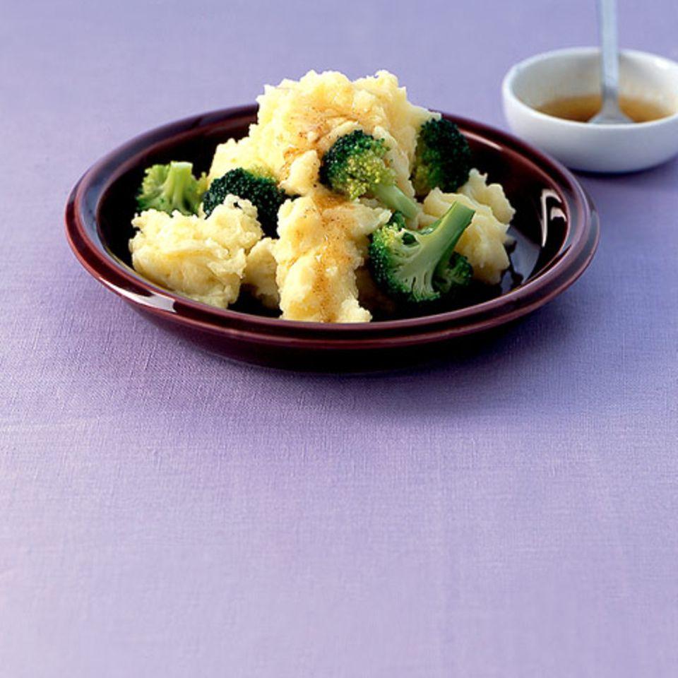 Broccoli-Kartoffelstampf