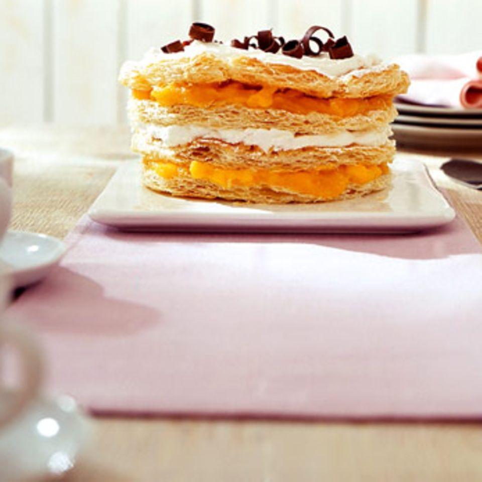 Kokos-Mango-Torte