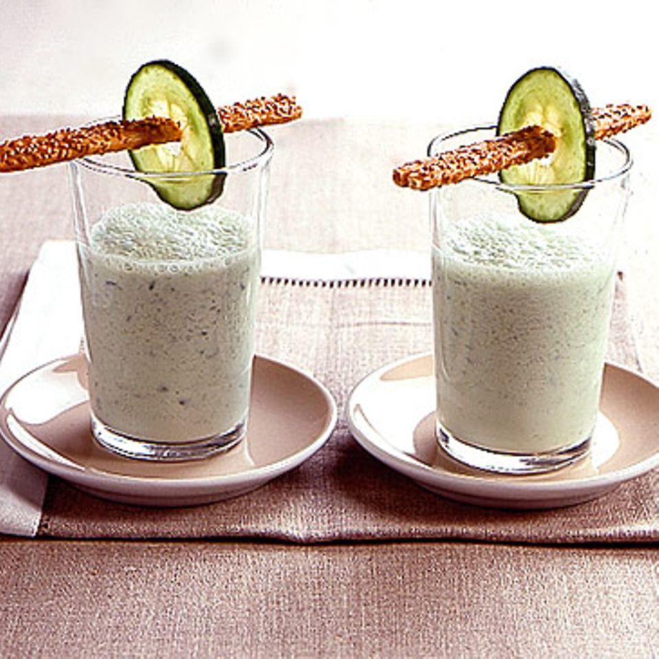 Gurken-Joghurt-Lassi
