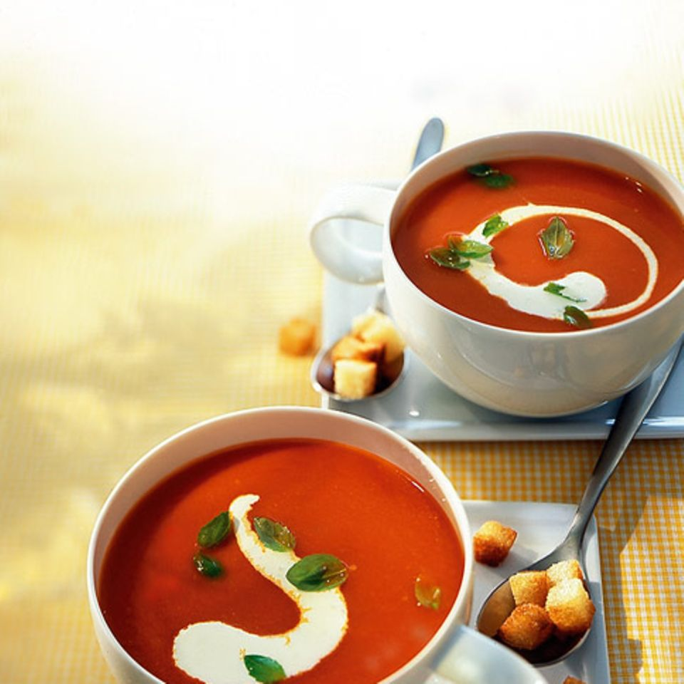 Tomaten-Chilisuppe