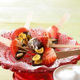 Knusprige Schoko-Erdbeeren