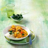Kartoffelcurry mit Joghurt
