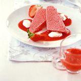 Erdbeereis