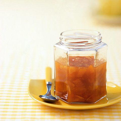 Aprikosenkonfitüre mit Sherry und Mandeln