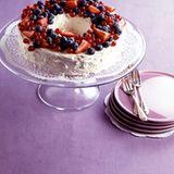 Angel-Food-Cake mit Beeren