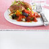 Ratatouille mit Lamm