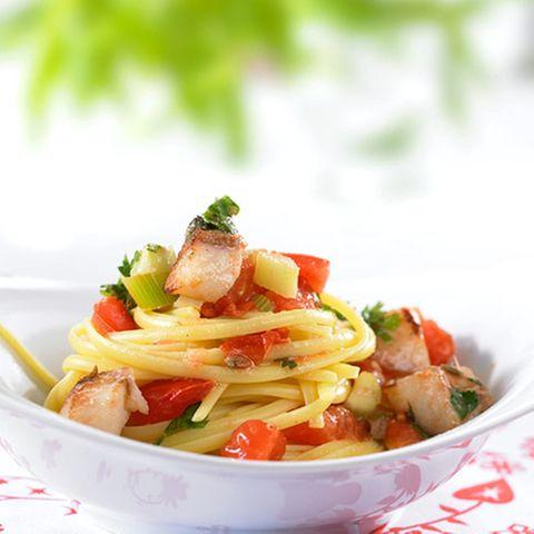 Tomaten-Rotbarsch-Ragout