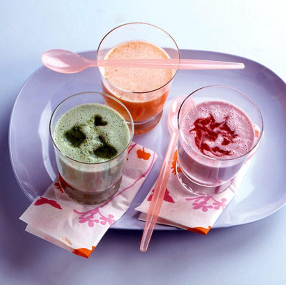 Himbeer-Kokos-Shake
