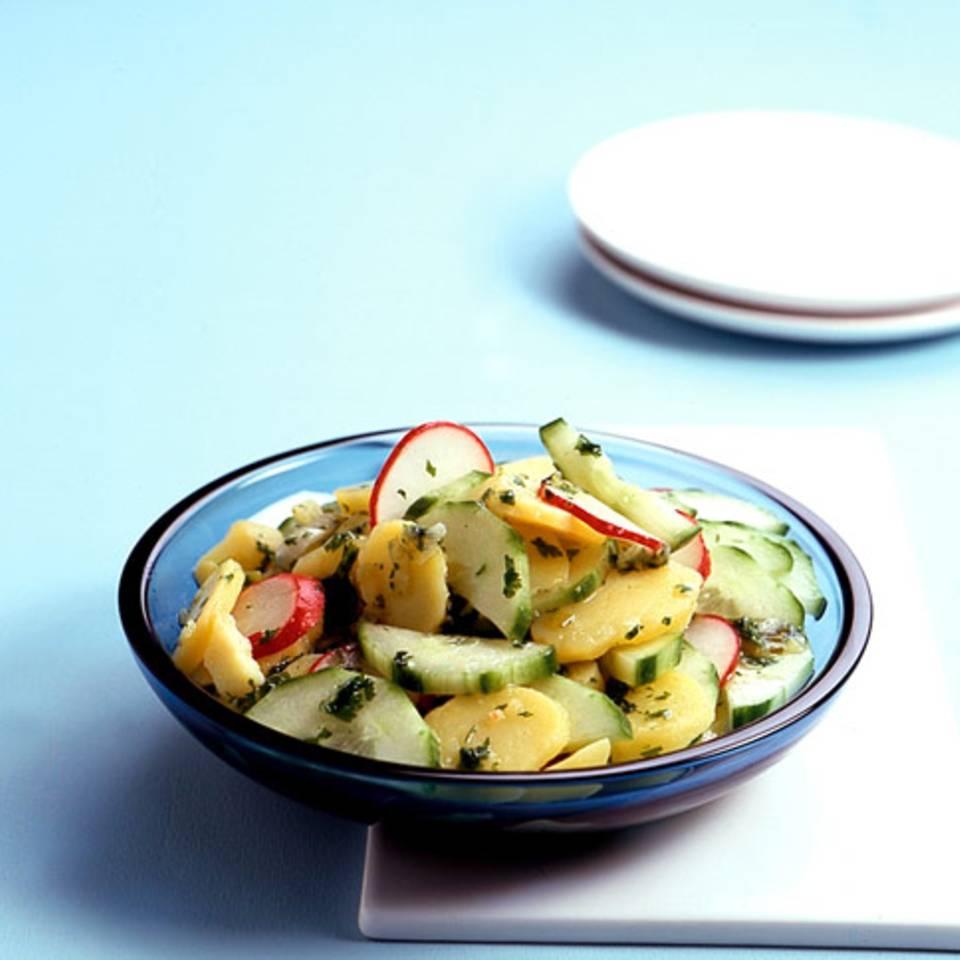 Gurken-Kartoffelsalat Rezept