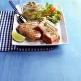 Thunfischsteak mit Guacamole