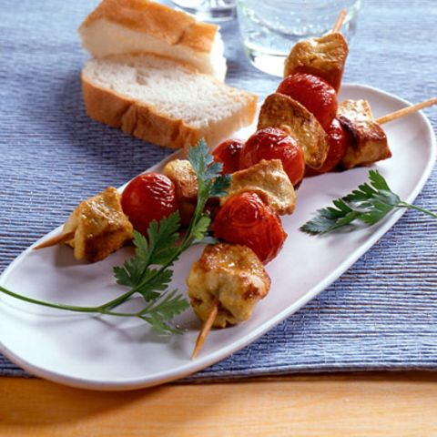 Chicken-Kebabs