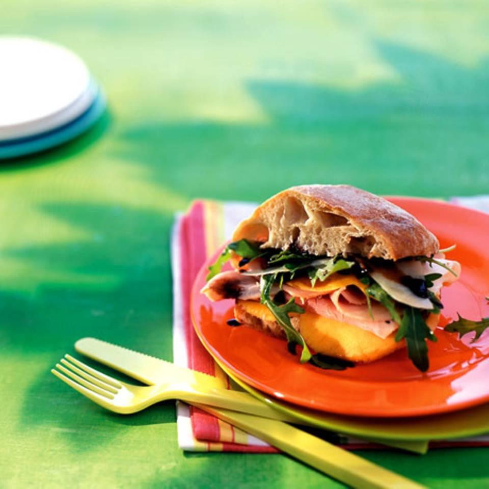 Mango-Rauke-Ciabatta Rezept