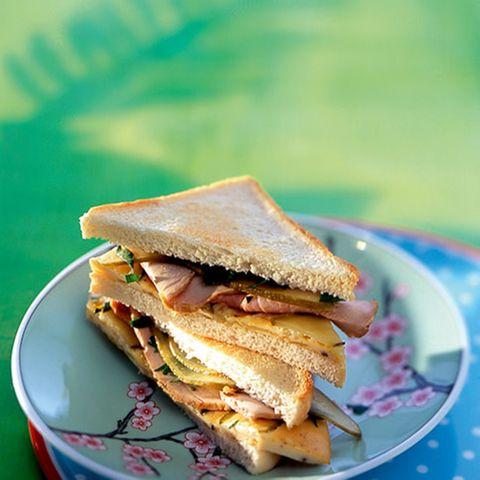 Bauernfrühstück-Sandwich