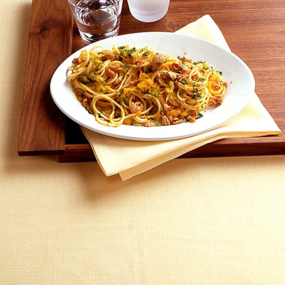 Amarettini-Kürbis-Spaghetti