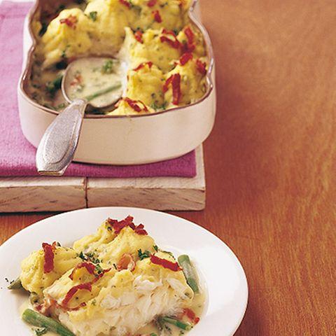 Kabeljau-Kartoffel-Auflauf