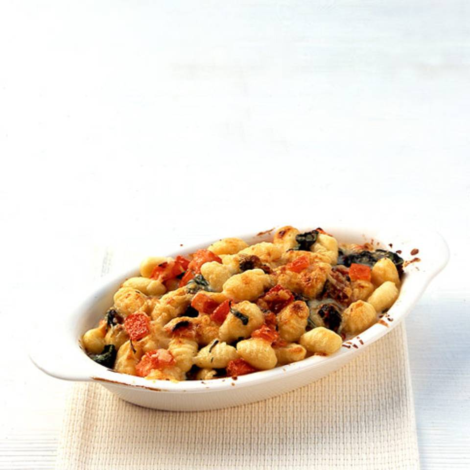 Überbackene Gnocchi Rezept
